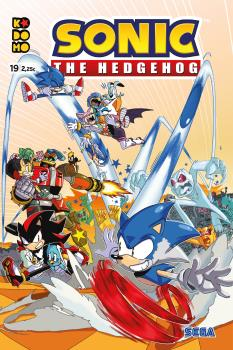 SONIC: THE HEDHEGOG NÚM. 19