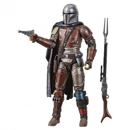 THE MANDALORIAN FIGURA 19 CM STAR WARS BLACK SERIE
